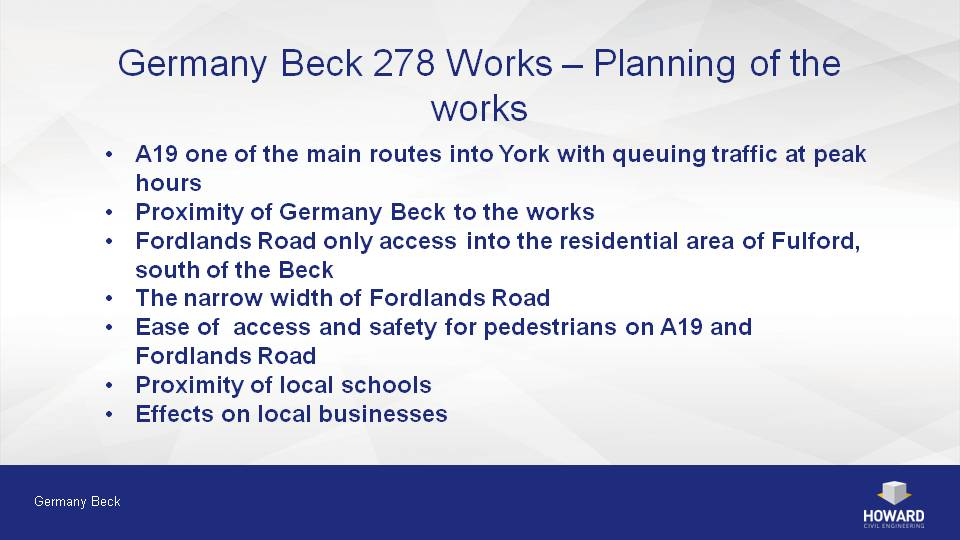 Community Meeting Presentation - Germany beck york map